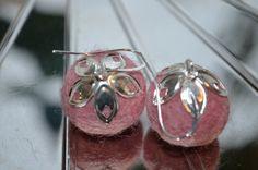 Felted dangle earrings / Huovutettu  riippuva roikkuva korvakoru