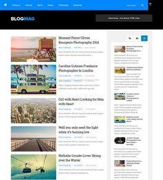 BlogMag Blogger Template