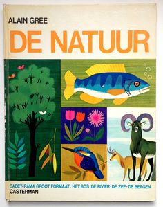 alain gree. Would love this along the charley harper illustrated biology book