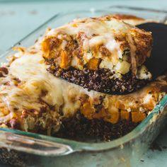 Sweet Potato Quinoa Lasagna + Noosa Yoghurt Giveaway