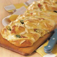 Makeover Chicken & Broccoli Braid Recipe