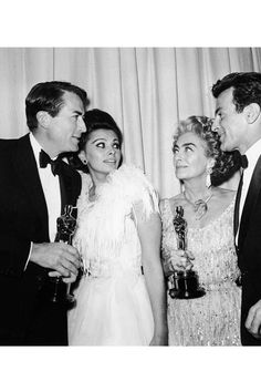 """5/6/14  5:25p  The Academy Awards Ceremony 1963:  Gregory  Peck  Best Actor Oscar for ''To Kill a Mocking Bird""""   Presenter: Sophia Loren   Best Actor  Joan Crawford Accepting for Anne Bancroft  Best Actress Oscar  for ''The Miracle Worker''    Maximillian Schell  Presenter:  Best Actress  1962"""