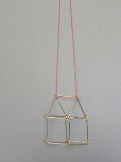 Otto Kunzli house necklace...CFC....no necklace, just to sit around