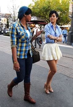 Awesome Rihanna Outfit