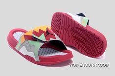 """new concept 0c059 45f50 """"Hare"""" Jordan Hydro 7 Retro Slide Sandals New Release"""