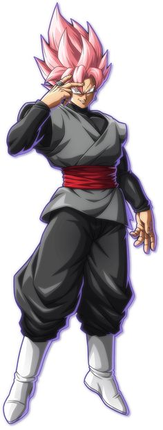 Goku Black Super Saiyan Rose by maxiuchiha22
