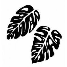 Szablon malarski LX 01, LX01, liście, listki