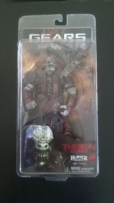 Gears of War3: Theron Guard Action Figure New NECA Torque Bow #NECA