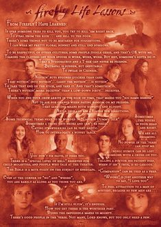 so what if i cried after reading this... All I Really Need To Know I Learned From Firefly