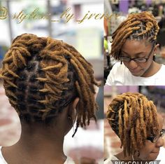 Short Dread Styles, Dreads Styles For Women, Short Dreadlocks Styles, Dreadlock Styles, Curly Hair Styles, Natural Hair Styles, Dreads Short Hair, Short Locs Hairstyles, Megan Good