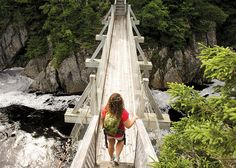 Nova Scotia road trips: Also along the Marine Drive Trail you'll find the Liscomb River Trail System located on the Eastern Shore East Coast Travel, East Coast Road Trip, Cap Breton, East Coast Canada, Nova Scotia Travel, Vancouver, Canadian Travel, Canadian Rockies, Atlantic Canada