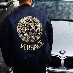 VerSace Bomber jacket . MEN SIZE SMALL . Brand new.