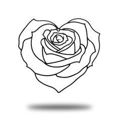 Rose Coloring Pages, Free Adult Coloring Pages, Printable Coloring Sheets, Disney Coloring Pages, Animal Coloring Pages, Coloring Pages For Kids, Coloring Books, Kids Colouring, Broken Heart Drawings
