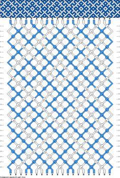 20 strings 28 rows 2 colors