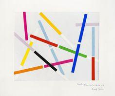 René Roche (1932-1992)  New-York, circa 1982-83  Dix collages sur papier  50 x 65 cm.