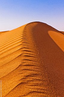 Dune in Ramlat Al Wihiybah (Sultanat d'Oman)   by L'Abominable Homme de Rires