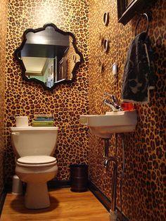 10 Best Leopard Print Bathroom Images