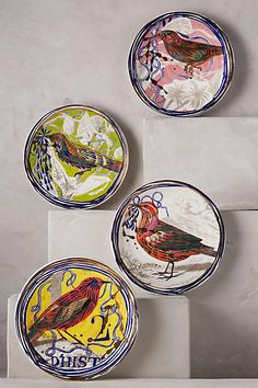Dreambirds Dessert Plate - anthropologie.com