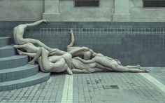 Expressive Photos Of Nude, Contorted Bodies That Reflect On The Human Condition - DesignTAXI.com