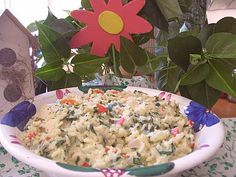 Creamy Chicken Spinach and Rice Skillet