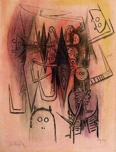 Clearing, by Wilfredo Lam