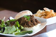 Nothing like a Pulled Pork sandwich from our Wine Bar & Smokin' BBQ digs.