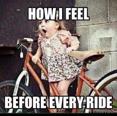 My reaction when someone says lets take our Mobo out for a ride! #bicyclehumor