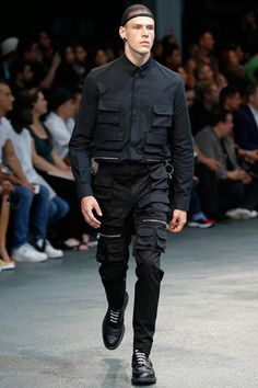 Givenchy Spring 2015 Menswear Collection Slideshow on Style.com