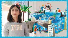 Voici l'Aquarium Playmobil. Ouvrez grands vos yeux, nous partons dans un monde merveilleux, celui de l'océan !