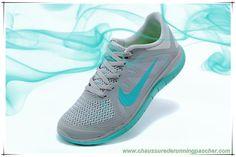 f82bc0792a2 meilleure chaussure de running Running Nike Free 4.0 V4 642200-031 Hyper  turquoise Light Gray   Vert