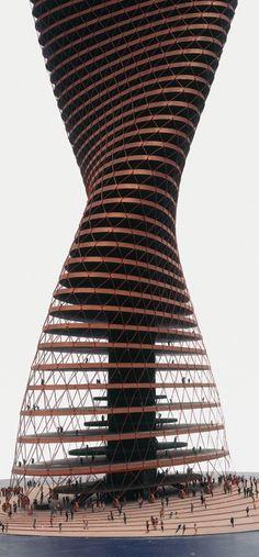 Conrad Roland's Spiral Skyscraper (1963)