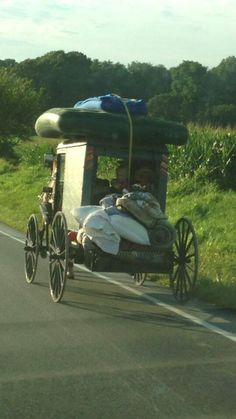 Let's go camping ~ Amish style.