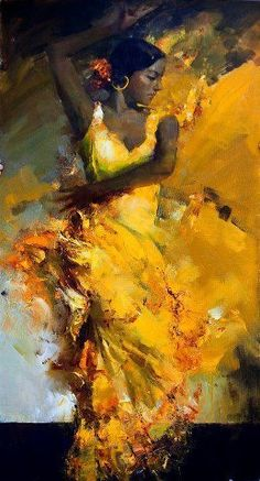 danseuse   yellow