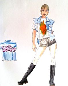 Costume Design Sketch, Commercial, Sketches, Princess Zelda, Costumes, Fictional Characters, Drawings, Dress Up Clothes, Fancy Dress