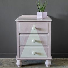 How to paint a chest of drawers | Antoinette and Old White Chalk Paint® finished with Clear and White Chalk Paint® Wax | Better Homes and Gardens Australia