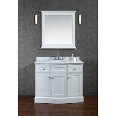 "Found it at Wayfair - Montauk 42"" Single Bathroom Vanity Set with Mirror"