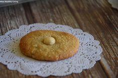 αμυγδαλωτά-χωρίς-ζάχαρη Sweet Recipes, Healthy Recipes, Healthy Food, Bagel, Doughnut, Deserts, Food And Drink, Bread, Cookies