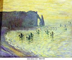 Etretat Claude Monet | Etretat Monet Stock Photos & Etretat Monet Stock Images - Alamy