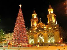 Christmas in Santiago, Chile