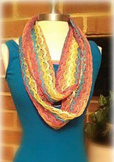 Multi Colored Infinity Sc... - Kirstie's Krafty Kre... | Scott's Marketplace