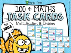 Over 100 Multiplication / Division Task Cards (KS2 Year 3)