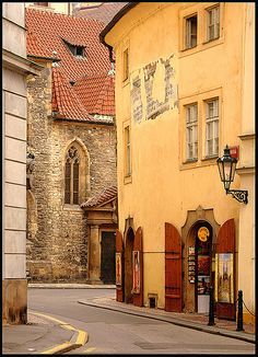Lonely street by S. Lo, via Flickr  Prague