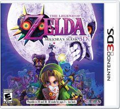 The Legend of Zelda: Majora's Mask 3D Pre-Order (Nintendo 3DS) $34 + Free Shipping