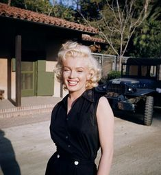 Marilyn Monroe photographed by Harold Lloyd