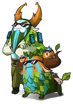 #Dota2  Nature Prophet and Shagbark Wallpaper