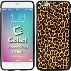 TPU / PC Proguard Case with Leopard (02) for iPhone 6 Plus