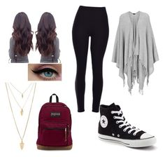 """""""Untitled #5"""" by grace-j-sturgeon on Polyvore featuring Joseph, Converse and Forever 21"""
