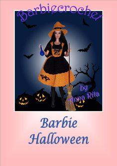 PDF Barbie Halloween pattern English par Crochetfashiondoll sur Etsy