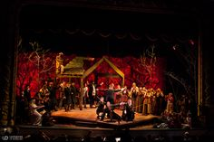 Fiddler on the Roof. Waterville Opera House. Scenic and lighting design by Chad…