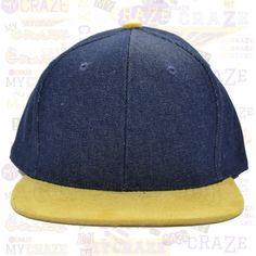 TopCul Urban Blue Denim Suede Hip Hop Rap Streetwear Snapback Hat Baseball Cap – MyCraze #TopCul #Streetwear #HipHop #Denim #Snapback #Cap